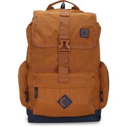 PETER ENGLAND Men Polyester Backpack 34 L Backpack(Orange)