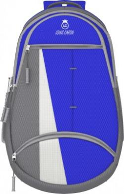 LOUIS CARON Stylish laptop backpack 25 L Backpack(Blue)