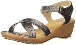 BATA Women Utsav 9-Comf-Aw19 Grey Fashion Sandals-6 (6612323)