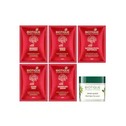 Biotique Beauty Products Minimum 40% off + Free Gift on 299 purchase + Get 20% discount using coupon