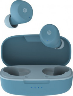 Noise Shots X1 Air 2 Bluetooth Headset(Steel Blue, True Wireless)