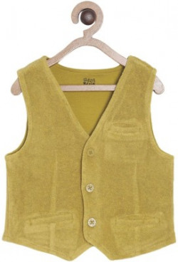 MINI KLUB Self Design Baby Boys Waistcoat