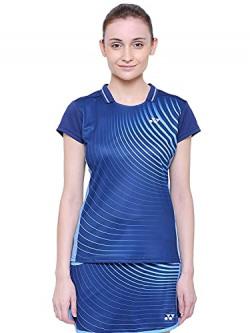 Yonex 1237-30 Polyester Badminton Girls Skirt, Extra Large (Ultra Violet)