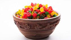 GO GRASS Tutti Frutti Cherries for Cake, Cookies and ice-Cream Decoration( Fresh Colourful Tutti Frutti)- 200g