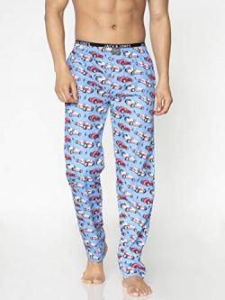 Jack & Jones Men's Pyjama Bottom (12156048_Blue_L)