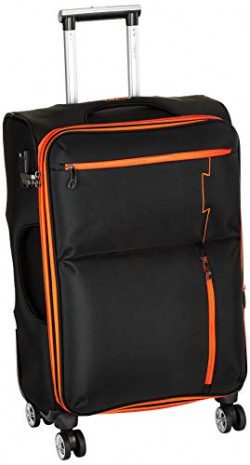 Tamo Nylon 16.5 inches Black Suitcase (9007731905063)