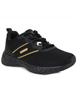 Campus Men's Preston BLK/Gold Running Shoes