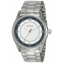 Titan Neo Analog White Dial Men's Watch NM1729SM04/NN1729SM04