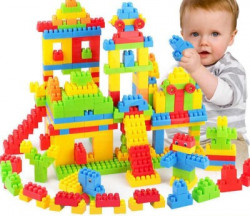 BOZICA New arrival Building Block Set MulticolorBlocks for Toddlers and Kids, Building Block for Boys and Girls ,100 Pieces, 20+ Activities(Multicolor)