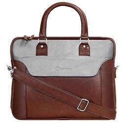 Optima Messenger Bag Satchel Leisure Canvas 15 Inch Laptop Shoulder Briefcase Pack Crossbody Backpack for Men Women Teens