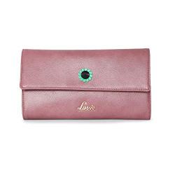 Lavie Halley XL Tri Fold 2 Women's Wallet(D Pink)