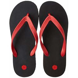 Amazon Brand - Symbol Men's Black Flip-Flops-9 UK (43 EU) (10 US) (AW20-AZ-10)