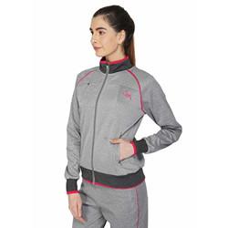 Vector X Lady Bird Girls Lightweight Sports Jacket (Grey)