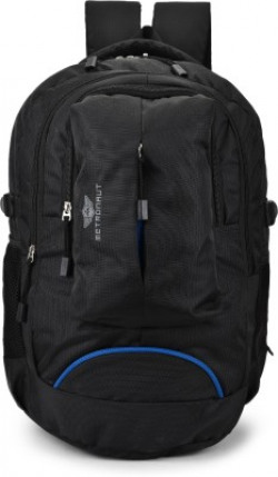METRONAUT Stylish Unisex Backpack Casual Laptop Bag-Office Bag-School Bag And College Bag-Multipurpose Backpack 35 L Laptop Backpack(Black)