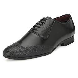 Centrino Men 3118 Black Formal Shoes-10 UK/India (44 EU) (3118-02)