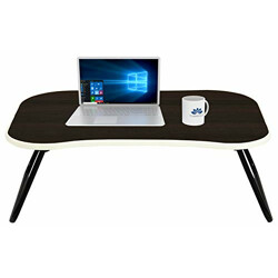 Townsville Sleeko Laptop Table with Engineered Wood Board and Rubbber Edge Banding (Cappucino Oak)