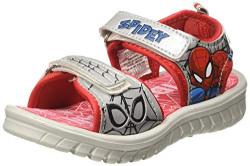 Spiderman Boy's Grey/Red Sandals - 5 Kids UK/India (22 EU)(STY-18-19-000954)