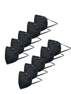 Priority Protective Mask 10 Black Medium Reusable Outdoor Respirator Anti- pollution   Anti- dust  Anti-bacterial