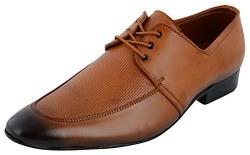 Auserio Men's Tan Formal Shoes - 7 UK/India (41 EU)(SS 912)