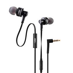 VOGIX Trendz E01 New Super Bass Headphones with Mic (Trendy Black)