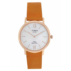 Timex Analog White Dial Women's Watch-TWEL12605