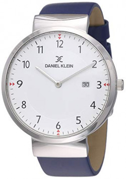 Daniel Klein Analog White Dial Men's Watch-DK11770-7