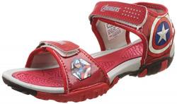Marvel Boy's Sandals-11 UK (30 EU) (12 Kids US) (MAPBSS2124_Red)