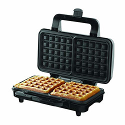 Borosil - Neo Waffle Maker, 1000 W, Silver