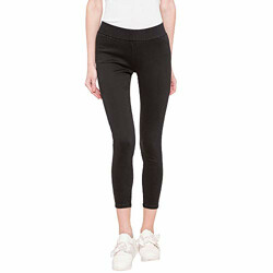 Pepe Jeans' Women's Skinny Fit Jeans (PL203076Q010_Black Used_26)