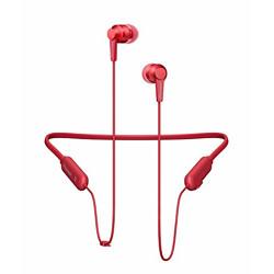 Pioneer SE-C7BT Neck Band Type Bluetooth Earphone (Carmine Red)