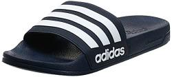 Adidas Men Adilette Shower Navy Flip-Flops-12 UK (47 EU) (12 US) (AQ1703)