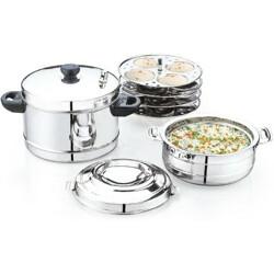 Pigeon Zen Gift Pack Cookware Set(Stainless Steel, 3 - Piece)