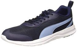Puma Men's Reeping XT 2 IDP Peacoat-Faded Denim Running Shoes-10 UK (37362403)