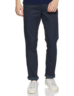Arrow Sports Men's Relaxed Fit Casual Trousers (ASXTR2406_Grey_30)