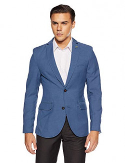blackberrys Men's Jacket (UJ LINE # Ceramic Blue_Ceramic Blue_40)