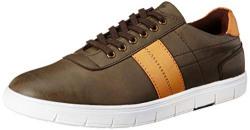 Parx Men's Medium Green Sneakers-9 UK (43 EU) (XXSS00063-N3)