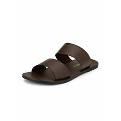 HiREL'S Men's Brown Sandals - 6 UK/India (40 EU)(hirel1940)