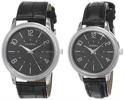 Amazon Brand - Symbol Analog Black Dial Unisex-Adult Watch-AMZ-DW-C-SP1D