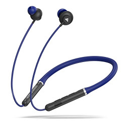 Boult Audio ProBass X1-Air Wireless in Ear Neckband Earphone with Mic (Blue)