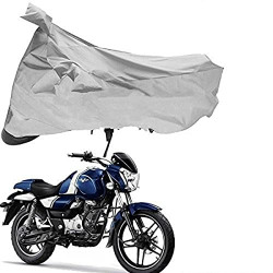 Riderscart Weather Waterproof Bike Cover for Bajaj Vikrant Protection Combo with Storage Bag and Microfiber Glove