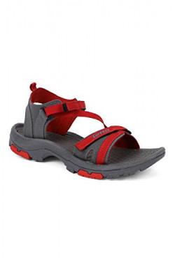 Lotto Women's Grey/RED Terra Sandals