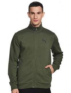 Puma Men's Slim Jacket (58970701_Thyme_Medium)