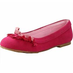 Disney Girl's Queen Elsa Pink Ballet Flats-9 Kids UK (27 EU) (3115253)