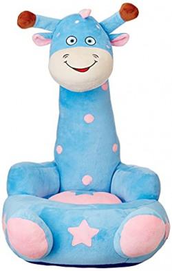 Amazon Brand - Jam & Honey Giraffe Kid Seater, Blue