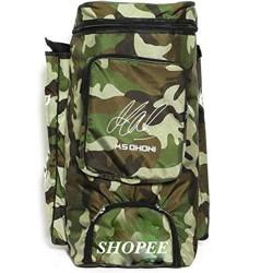 SHOPEE Cricket Kit Camouflage Backpack- White Print [CAT_5885](Kit Bag)