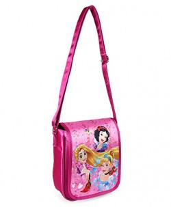 Disney Fabric 18.5 cms Pink School Backpack (MBE-WDP1152)