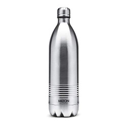 Milton Duo Dlx Thermosteel Bottle, 750 ml, Steel Plain