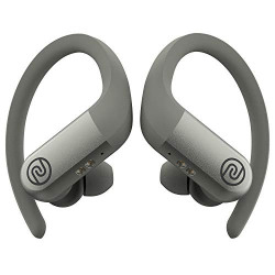 Noise Shots Rush Wireless Bluetooth Earbuds with 12mm Speakers & 3 EQ Modes for Gaming and Workout, 24 Hours Playtime, No Rain or Sweat Damage (Quick Silver)