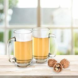 YERA Bar & Banquet Beer Mugs, 345 ml, 6 Piece