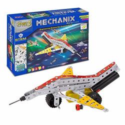 Negi Mechanix Robotix 3 DIY,Educational,Stem,Building and Construction Toys (Metal)